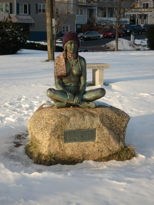 The Wampanoag Woman in Winter